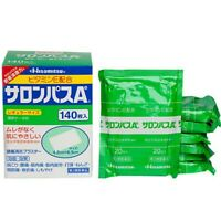 Hisamitsu Salonpas Pain Relieving Patches - 140 Count Japan Import
