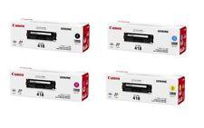 SET Canon Genuine CART-418BK CART-418C CART-418M CART-418Y For MF8350CDN MF729CX