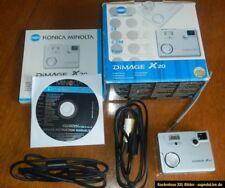Konica Minolta Dimage X20 Digitalkamera (2 Megapixel) w/ 3x Optical Zoom mit OVP