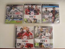 PLAYSTATION 3 EA SPORT FIFA 09 FIFA 11 FIFA 12 FIFA 13 PES 2011 ANCHE SINGOLI