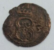 R4 !! denar Zygmunt III Waza 1623 Lobżenica nie szeląg (Z?2