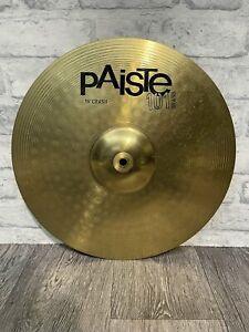 "Paiste 101 Crash Cymbal 16""/40cm Cymbal Drum Accessory"