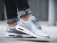 Nike Air Max Thea SE GS 820244-003 Metallic Platinum Size UK 5.5 EU 38.5 US 6Y