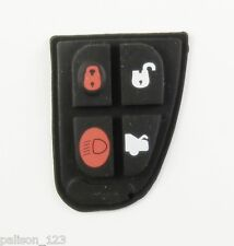 JAGUAR X TYPE S TYPE XJ XK XJR 4 BUTTON REMOTE KEY REPLACEMENT  BUTTON PAD