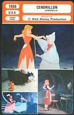 CENDRILLON - Disney (Fiche Cinéma) 1950 - Cinderella