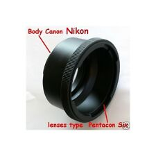 Adattatore lens Pentacon six Exakta Kiev 60 a Nikon - ID 2803