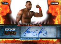 TNA Kenny King 2013 Impact Wrestling LIVE GOLD Autograph Card SN 74 of 99