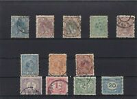 NETHERLANDS MOUNTED MINT & OR  USED STAMPS ON  STOCK CARD  REF R825