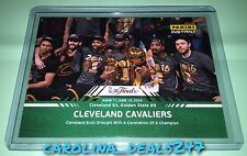 2016 Panini Instant NBA Finals Cleveland Cavaliers #14 Serial Number 24/25 GREEN