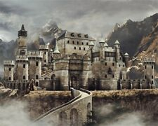 Vinyl Photography Backgrounds 5x4ft Old Castle In Mountain Photo Studio Backdrop
