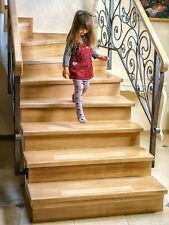 """Kenley Non-slip Stair Treads – 10 Pack Clear Step Strips 4""""x24"""" Indoor"""