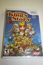 Wii Little King's Story  (2009) *New, Sealed*