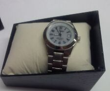 Aureole Solar powered watch - 100M Water resistant Brand New still in cover