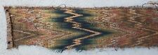 An Early Tapestry Textile Fragment with Bargello Zigzag Pattern #2