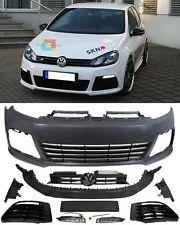 VW GOLF 6 2008-2012 PARAURTI ANTERIORE COMPLETO LOOK R20 + LUCI DIURNE