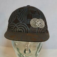 FlexFit 210 screen print Electric Cap, Fitted Hat Size 6 7/8-7 1/4