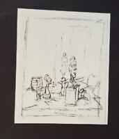 Alberto Giacometti-Buste-Poster