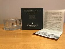 WATERFORD CRYSTAL CHAMPAGNE BOTTLE COASTER - THE MILLENNIUM COLLECTION (NIB)