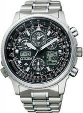 CITIZEN watch PROMASTER Eco-Drive radio clock chronograph PMV65-2271 Men