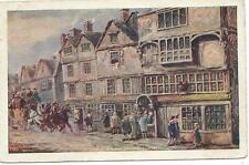 LONDON - COCK TAVERN, BISHOPSGATE STREET Artist signed MAGGS 1916 Postcard