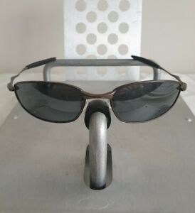 Oakley Whisker Sunglasses Pewter Frame - Black Ird Polarized Lens