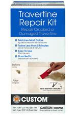 Travertine Repair Kit Custom Building Products Chipped Broken Repairs Chip Crack