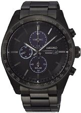 Seiko Gents Solar Powered Watch - SSC721P1 NEW