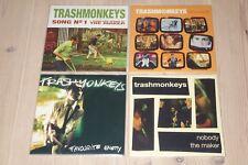 TRASHMONKEYS - 4 x Vinyl Single - Song No 1, Innocent, Favourite Enemy, Nobody