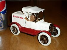 Ford Motor 1918 Runabout Car, Coin Bank,ERTL Made, Diecast Metal Toy, Scale 1:25