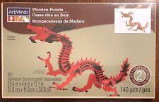 ArtMinds 3D Wooden Dragon Puzzle 148pcs NEW