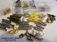 Bead Loom Slider Jumbo Kit/36 Piece/Bonus Findings