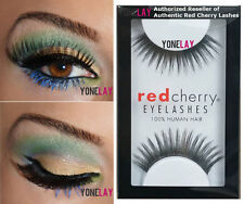 Lot 3 Pairs RED CHERRY #138 Winter False Eyelashes Human Hair Lash Fake Lashes