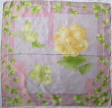 -Superbe Foulard LANCEL  100% soie  TBEG vintage scarf 87 x 88 cm