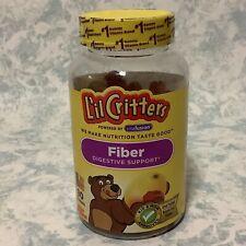 L'il Critters Fiber Digestive Support Natural Fruit Flavors 90 Gummies - New