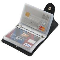 US Men's  Cards Slim PU Leather ID Credit Card Holder Pocket Case Purse Wallet.