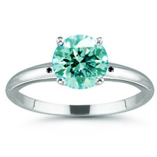 2.50 ct VVS1=NATURAL ICE SKY BLUE WHITE REAL MOISSANITE DIAMOND .925 SILVER RING