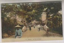 More details for vietnam postcard - hanoi, le pont du papier - rp (a19)