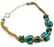 Tibetan Banjara Tribal Necklace Christmas Gift Glass Beads Handmade India Ethnic