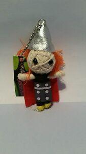 Thor Voodoo Doll Keyring Key Chain keyfob charm string wool girls boys gift NEW