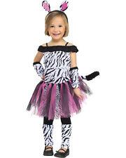 Morris Costumes Zebra Toddler Large 3T-4T. FW118041TL