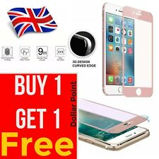 2X Rose Gold Full Cover Tempered Glass 3D Curved Screen Protector iPhone 6 / 6s