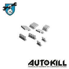 Zinge Industries Autokill Gaslands Pipes Exhausts & Bits - 20mm Scale Dmh16