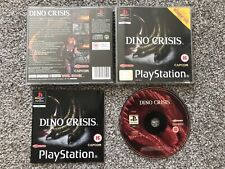 DINO CRISIS SONY PLAYSTATION 1 PS1 PS2 PS3 GAME WITH MANUAL OFFICIAL UK PAL