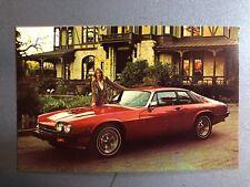 1978 Jaguar XJ-S Coupe Postcard Post Card RARE!! Awesome L@@K