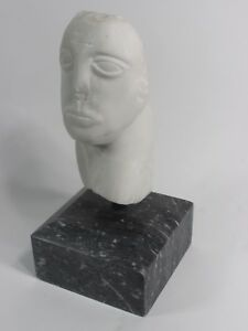 Jose Vaelazquez Sculpture SF Galleried MEXICAN Artist Marble Carving