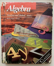 McDougal Littell Structure and Method Ser.: Algebra Bk. 1 : Structure and...