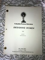 "Authentic Script From Columbia Pictures Television Designing Women ""BIG"""
