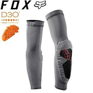 Fox ENDURO D3O® Elbow Guard 2020 - Grey Vintage - Sizes M, XL