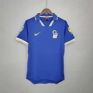 1996 Italy Home Retro Soccer Jersey