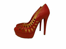 Christian Louboutin Shoes  140 Leather Heels Platforms Size  36